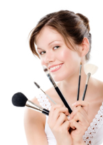 moon minerals lady brushes