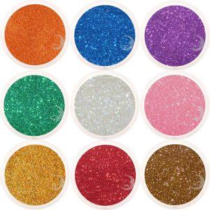 moon minerals glitter
